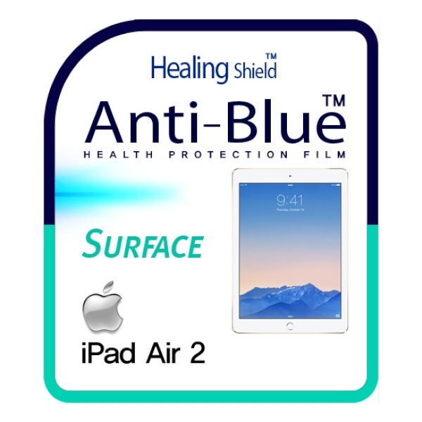 디바이스마트,컴퓨터/모바일/가전 > 노트북/태블릿/주변기기 > 태블릿PC 보호필름 > 아이패드 시리즈,,애플 아이패드 에어2(iPAD Air2) [힐링쉴드 블루라이트차단 시력(건강)보호필름 1매+후면보호필름 2매],아이패드 에어2 / 올레포빅 / 블루라이트 차단 / (앞면1장+뒷면2장)