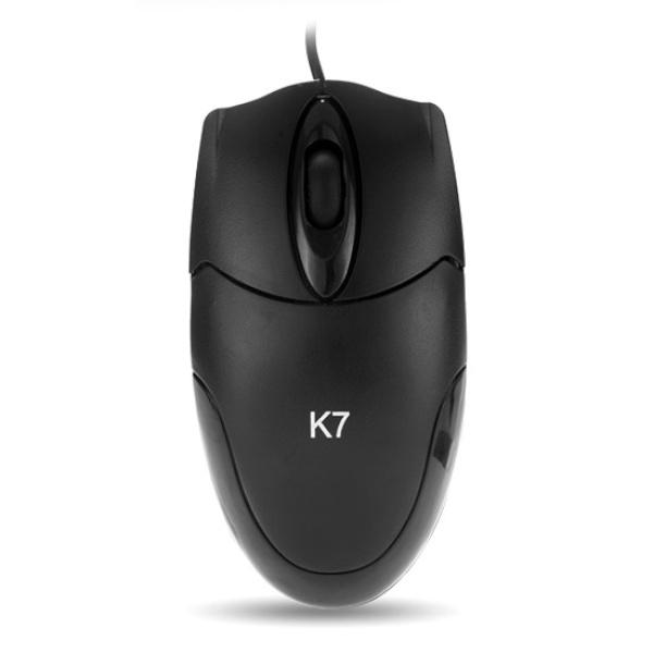 [미라클] 유선 광마우스, K7 [블랙/USB]