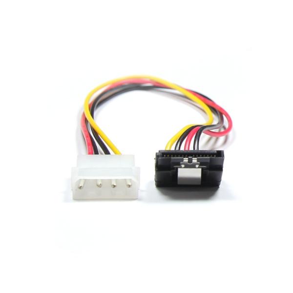 마하링크 IDE to SATA 전원 ㄱ자형 케이블 0.3M [ML-ISP-930]