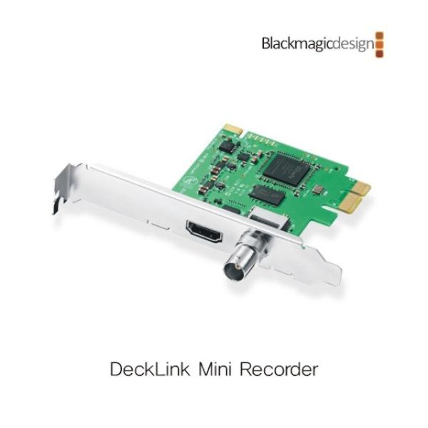 [내장형] DeckLink Mini Recorder [영상편집카드]