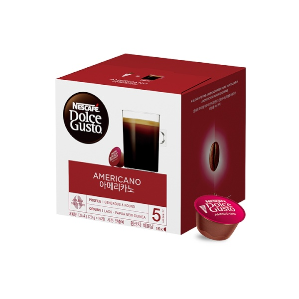 네슬레 네스카페 커피캡슐 [제품선택] 카페 아메리카노 1박스 16EA