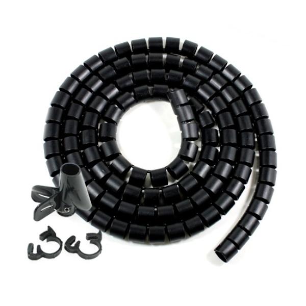 넥시 매직케이블 정리기, 1.5M, NX235 [소/15mm] [블랙/1개]