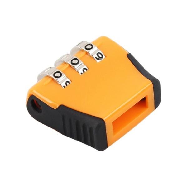 다이얼형 USB 단자 잠금장치, NM-UDL01 [오렌지]