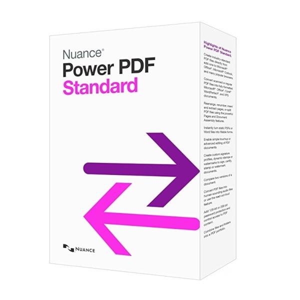 NUANCE POWER PDF STANDARD [ESD/다운로드방식/Win용/한국어 및 18개국어 지원]