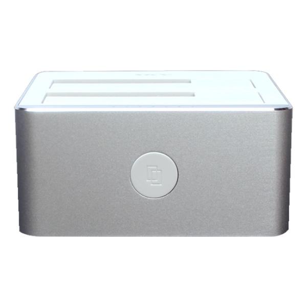 SKY 알로이 듀얼독 USB3.0 [2베이/도킹스테이션] [실버]