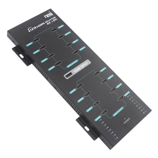 넥시 NX-4K0116P [모니터 분배기/1:16/HDMI/4K/오디오 지원] [NX432]