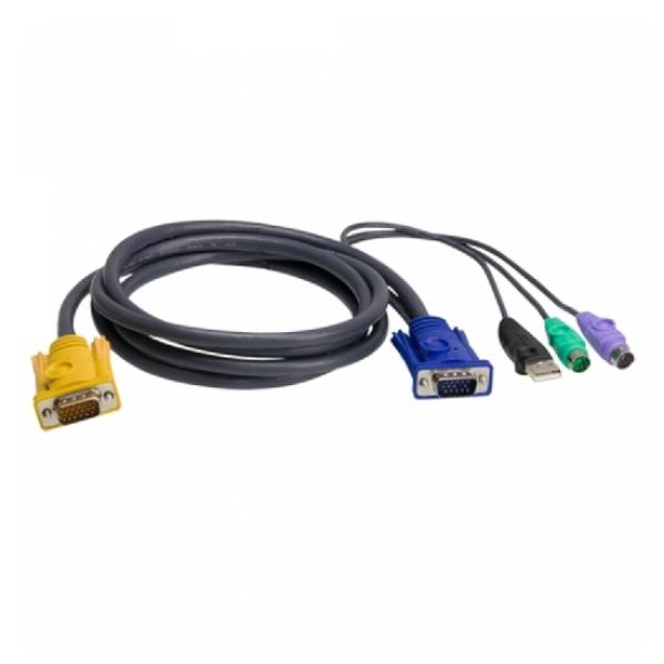 에이텐 KVM케이블 (PS/2 to USB 콤보) 3M [2L-5303UP]