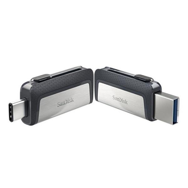 USB, 울트라 듀얼 TYPE-C 3.1 OTG [64GB/실버] [SDDDC2]