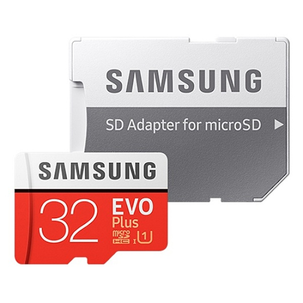 MicroSDHC, Class10, EVO Plus, UHS-I(U1) 신형 MicroSDHC 32GB [SD어댑터포함] [MB-MC32GA/KR]
