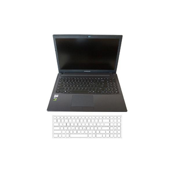 노트북키스킨, 15.6형 한성컴퓨터 XH57 BossMonster [투명]