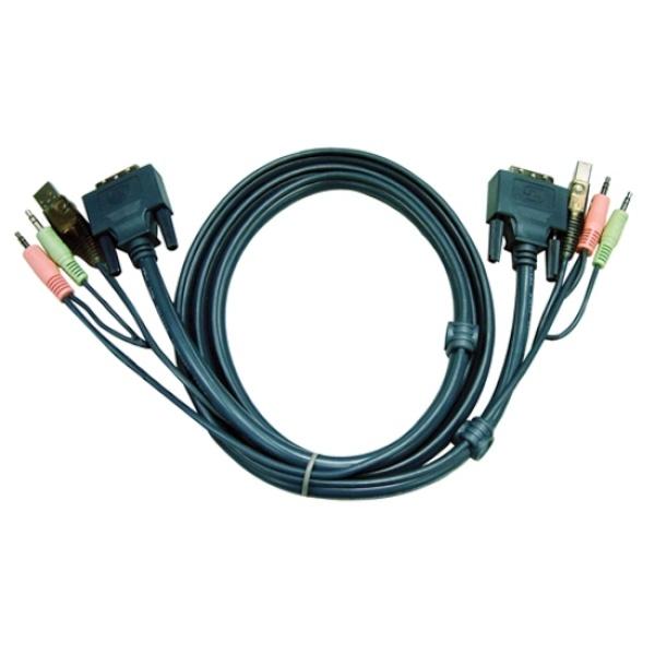 에이텐 USB KVM 케이블 3M [2L-7D03UD]