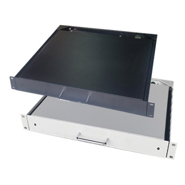 HPS 보안 서랍장 [Tool Box] [2U-Ivory] [DR-D350]