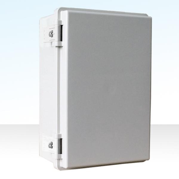 CCTV 힌지형 전원함 [전기박스/컨트롤박스], 화이트(속판포함) [200x300x130]