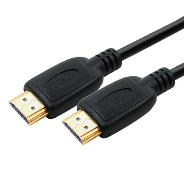 넥시 HDMI 케이블 [Ver2.0] 0.6M [NX-HD20S006] [NX508]