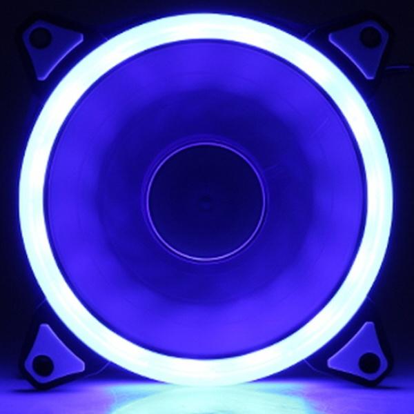 SUPER LED RING-12025 BLUE 120mm LED팬