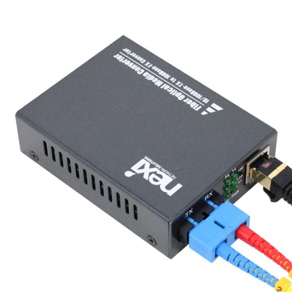 넥시 NX-FC200-SCS 광컨버터 [100Mbps/SC/싱글] [NX527]