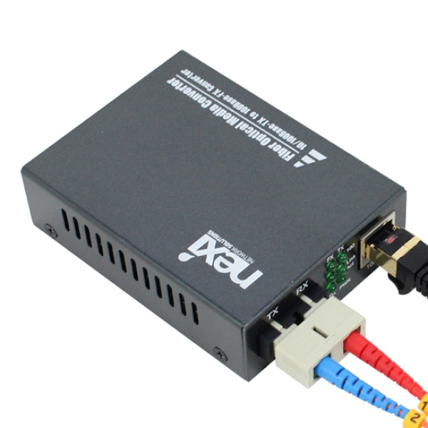 넥시 NX-FC200-SCM 광컨버터 [100Mbps/SC/멀티] [NX526]