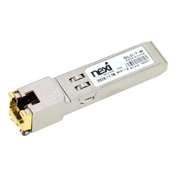 넥시 SFP to UTP(RJ45), 변환모듈 [GLC-T-A] [NX522/CISCO 호환용]