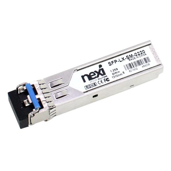 넥시 싱글모드, 미니지빅 모듈 [SFP-LX-SM-0220] [NX518/CISCO 호환용]