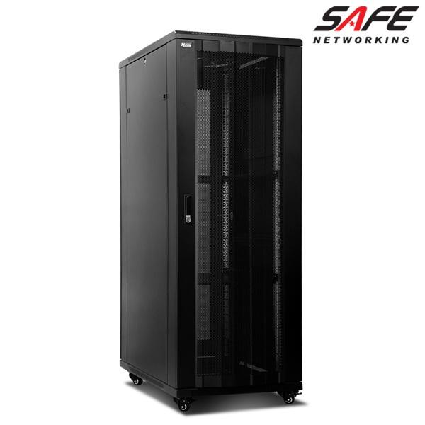 HPS 허브랙(SAFE 시리즈), SAFE-1800H-T[37U]|블랙, SAFE-1800H-T[37U] (전후면 천공문)