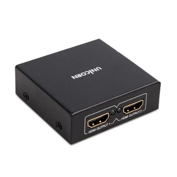 UNICORN ST-200HD [모니터 분배기/1:2/HDMI/오디오 지원]