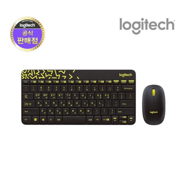 무선 미니 데스크탑 세트, MK240 Nano [로지텍코리아정품] [블랙]