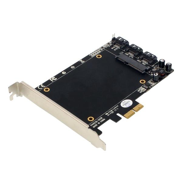 NETmate A-550 (SATA카드/PCI-E/eSATA/3port)