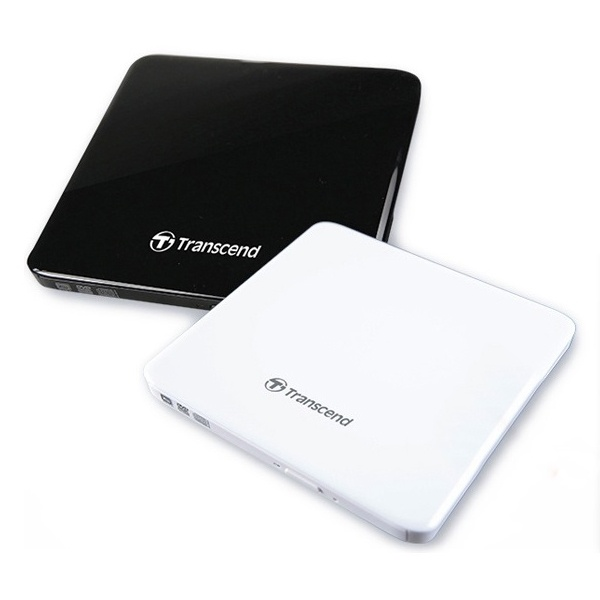 트랜센드 Extra Slim Portable CD/DVD Writer TS8XDVDS-K (정품박스/외장형/USB) [블랙]