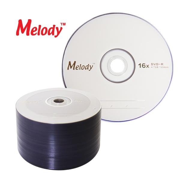 DVD-R, 16배속, 4.7GB [멜로디정품] [벌크/50매]