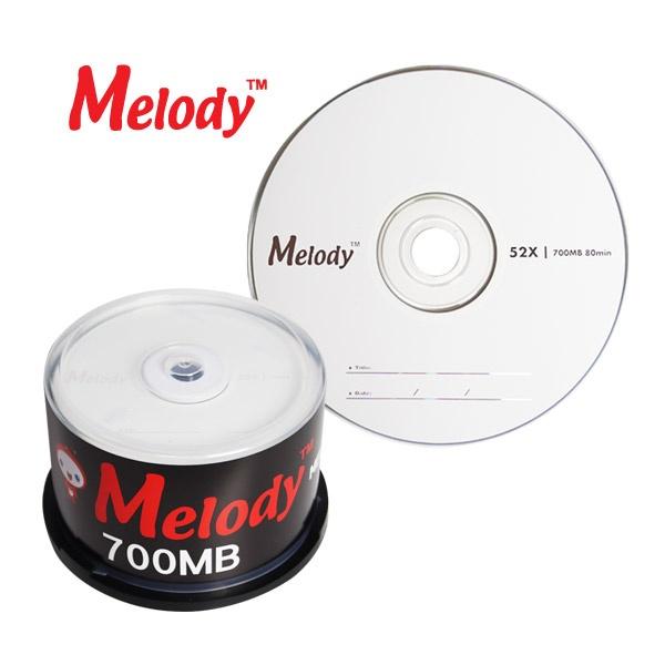 CD-R, 52배속, 700MB [멜로디정품] [케익통/50매]