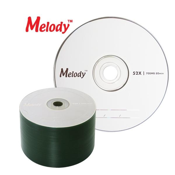 CD-R, 52배속, 700MB [멜로디정품] [벌크/50매]