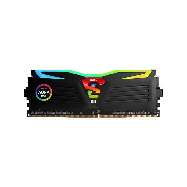 DDR4 16GB PC4-25600 [8GB x 2] CL16 SUPER LUCE RGB Sync 블랙