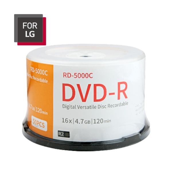 DVD-R, 16배속, 4.7GB [케익통/50매]