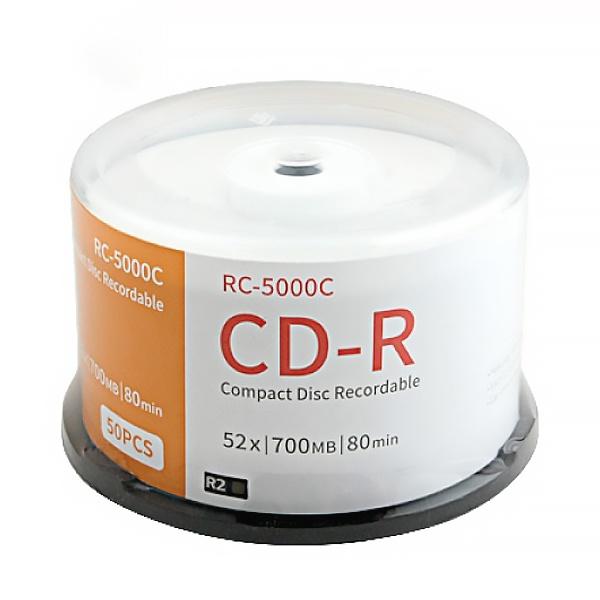 CD-R, 52배속, 700MB [케익통/50매]