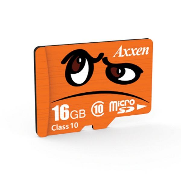MicroSDHC/XC, Class10, UHS-I (U1), 95MBs [액센 캐릭터 마이크로 SD카드] MicroSDHC 16GB