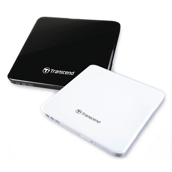 트랜센드 Extra Slim Portable CD/DVD Writer TS8XDVDS-W (정품박스/외장형/USB) [화이트]