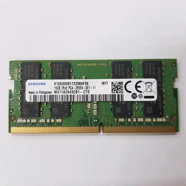 삼성 DDR4 16GB PC4-21300 노트북용 저전력