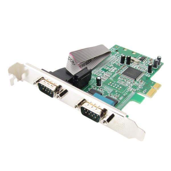 NETmate NMS-ES2 (시리얼카드/RS232/PCI-E/2port/MOS칩셋)