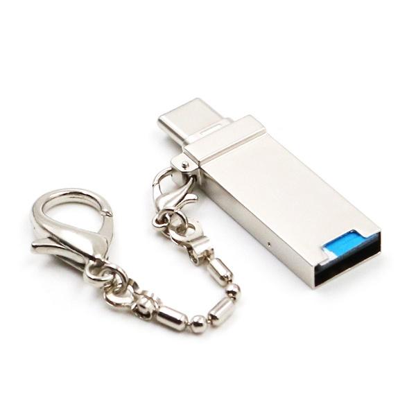 Type-C타입 카드리더기 OTG 젠더 (Micro SD USB 메모리 겸용) [MT012]
