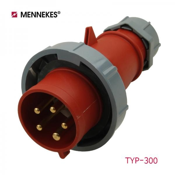 IP67 400V 32A 3P N E 산업용 AM-TOP 플러그 WH1662 [TYP300]
