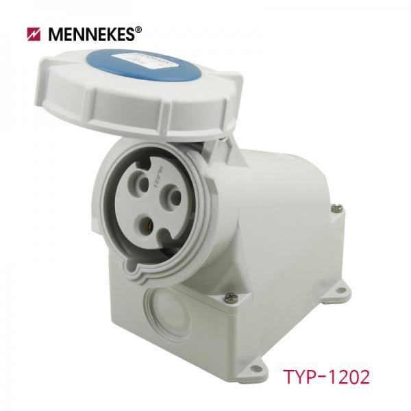IP67 230V 32A 2P E 노출형 소켓 [TYP1202]