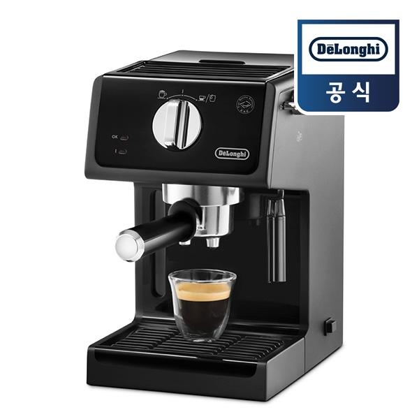 [드롱기] 반자동 에스프레소 커피머신 ECP31.21