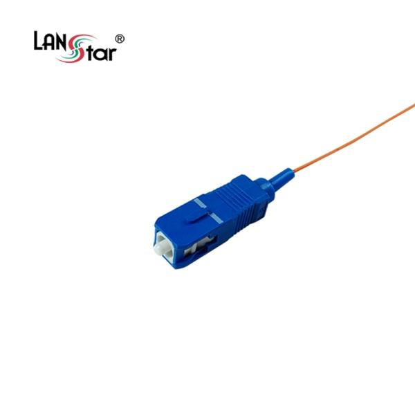 랜스타 SC-PC, 멀티 광피그테일 [1.5M/오렌지] [LS-FMP-SC-1.5M] 랜스타 SC-PC, 멀티 광피그테일