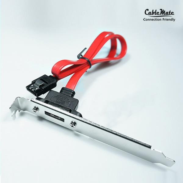 케이블메이트 SATA to eSATA 1포트 브라켓 45cm/1port [CH315] [LP브라켓 미포함]
