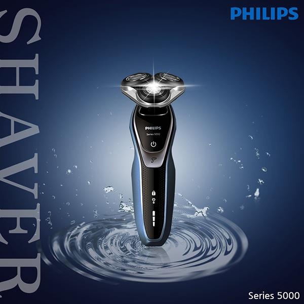 필립스정품 전기면도기 5000시리즈 s5360 파워터치