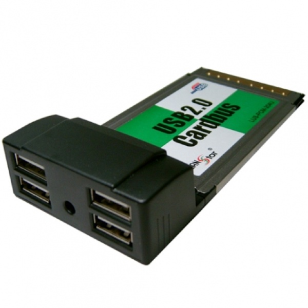 랜스타 LUS-PCM-204U (USB2.0카드/PCMCIA/4port)