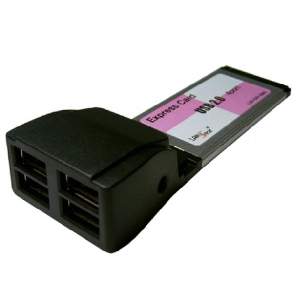 랜스타 LUS-EXP-204U (USB2.0카드/Express/4port)