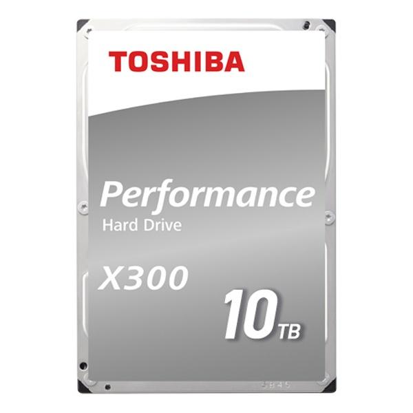 TOSHIBA X300 10TB HDWR11A (3.5HDD/ SATA3/ 7200rpm/ 256MB/ PMR)