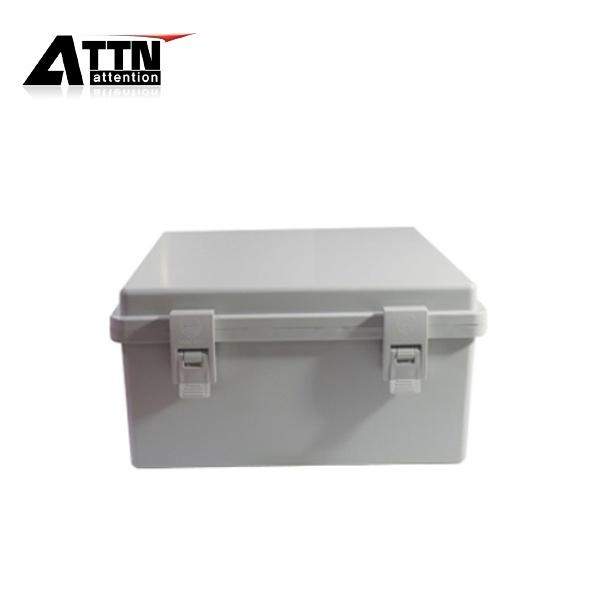 CCTV 힌지형 전원함 [전기박스/컨트롤박스], 화이트(속판포함) [300x300x150]