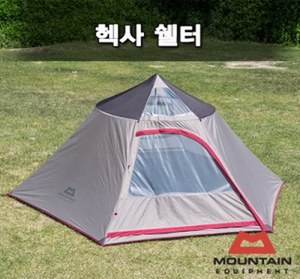 마운틴이큅먼트 헥사 쉘터 텐트